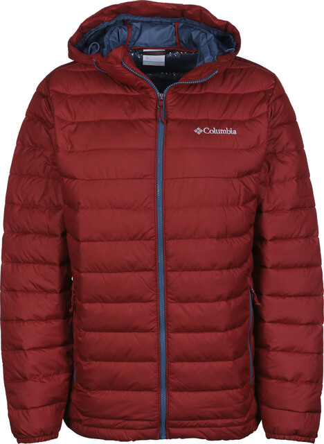 Columbia Powder Lite Capuchon Jas Heren, red element